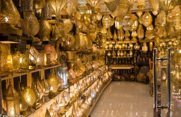 Maroc, Lampi la souk