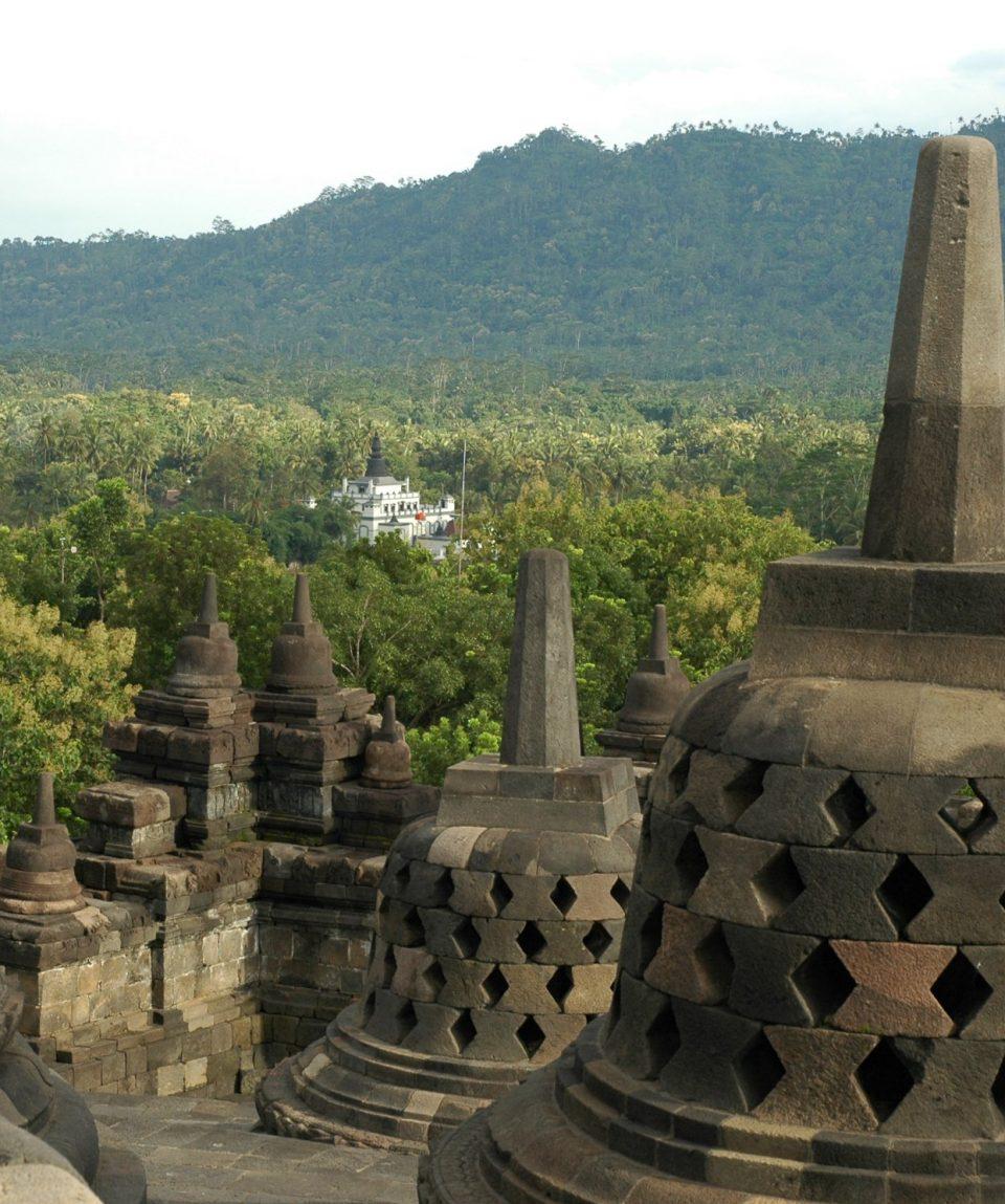 Borobudur - Java, Indonezia