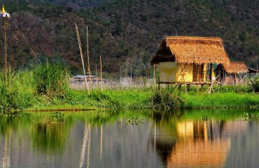 Case lacustre- Lacul Inle, Myanmar