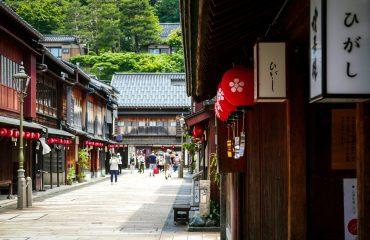 Higashi Chaya - Kanazawa, Japonia
