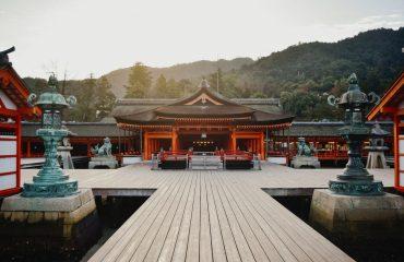 Itsukushima - Miyajima, Japonia