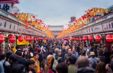 Nakamise - Tokyo, Japonia