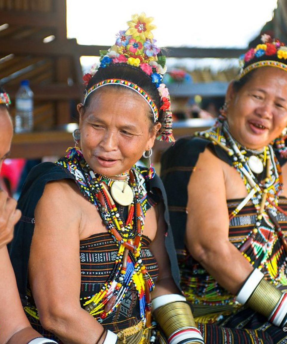Tribul Iban, Borneo Malaezia