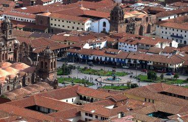 Catedrala si Plaza de Armas - Cusco, Peru